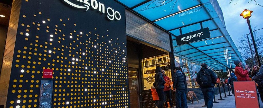 Amazon Go store in Seattle.