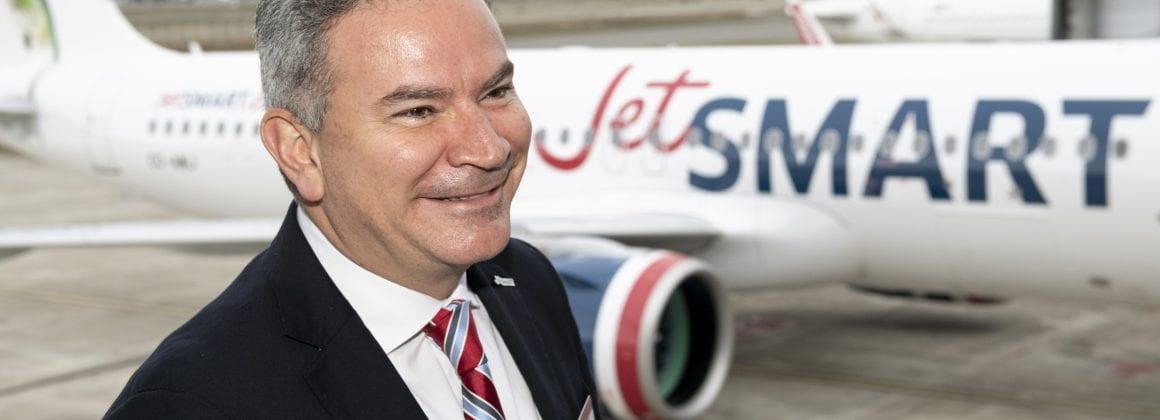 JetSMART's CEO, Estuardo Ortiz