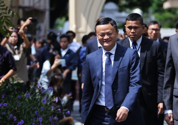 Jack Ma stepped down from Alibaba