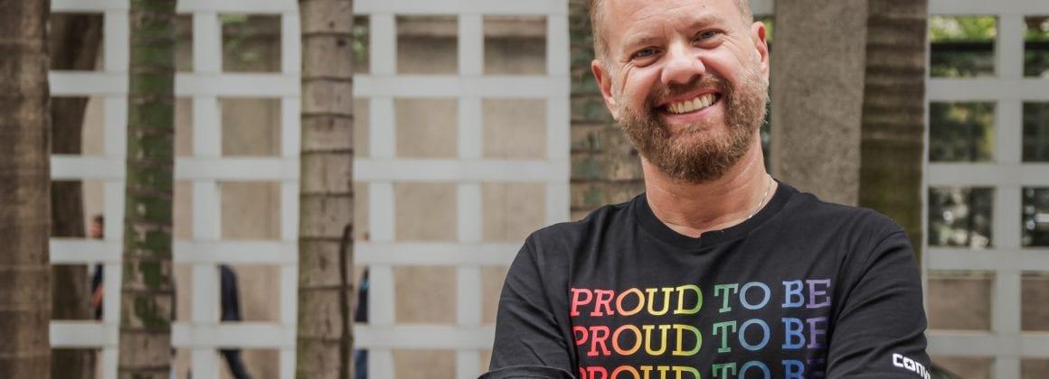 Pride Bank's CEO Marcio Orlandi Junior.