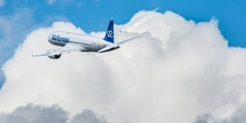 Air Europa airplane