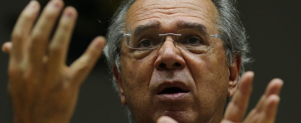 The Brazilian minister of Economy Paulo Guedes