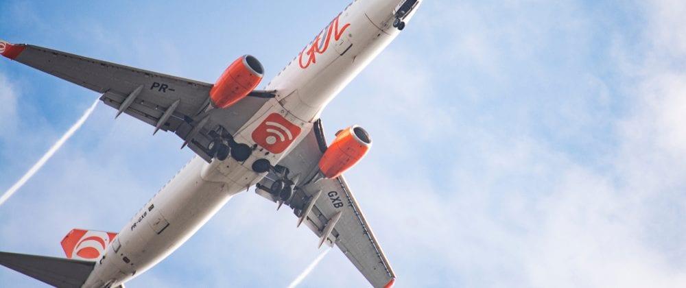 Gol's airplane