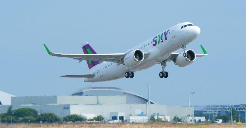 Sky's airplane