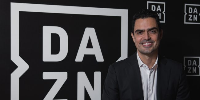 The executive VP of DAZN in Brazil, Bruno Rocha.