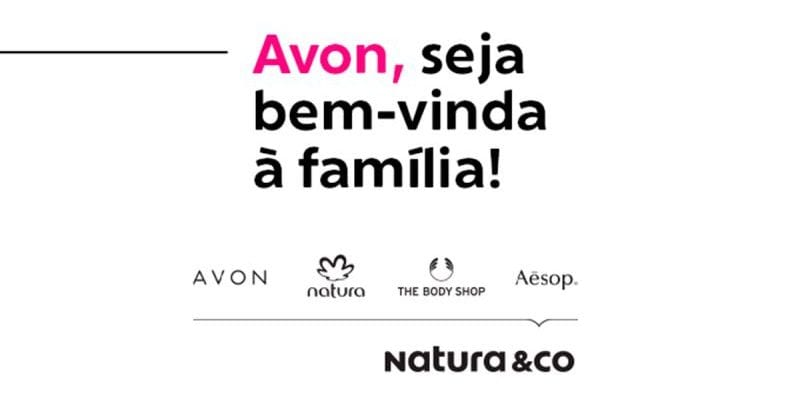 Natura&Co post on LinkedIN informing the conclusion of Avon's acquisition.