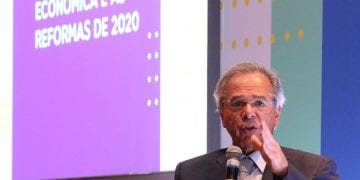 Brazil's Economy Minister Paulo Guedes.
