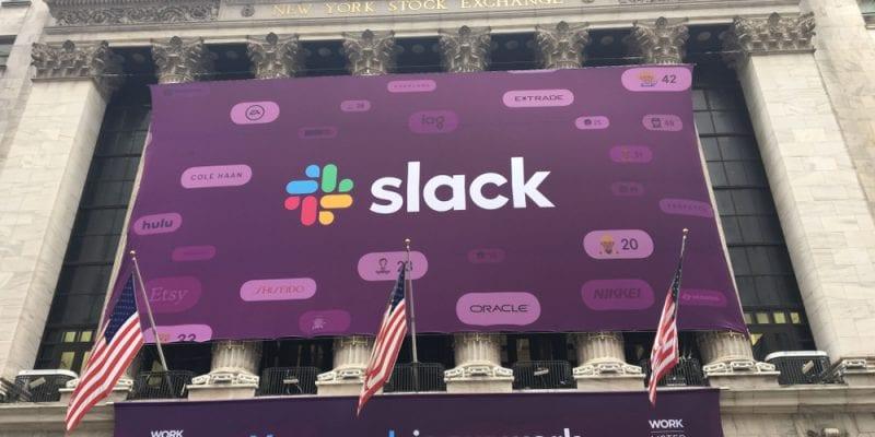 Messaging platform Slack on its stock market debut