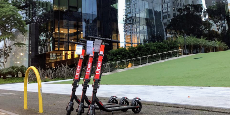 Uber starts offering scooter service in Sao Paulo