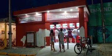 Banco24horas ATM's in Porto de Galinhas, Pernambuco.