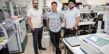 NotCo's founders Matias Muchnick, Karim Pichara, and Pablo Zamora. Photo: NotCo