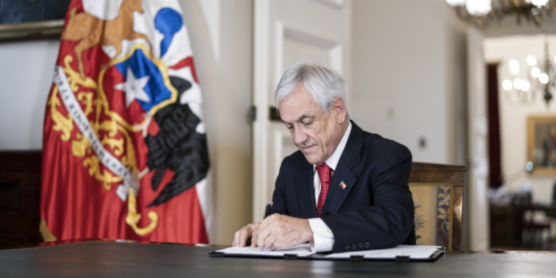 Chile's President Sebastián Piñera.
