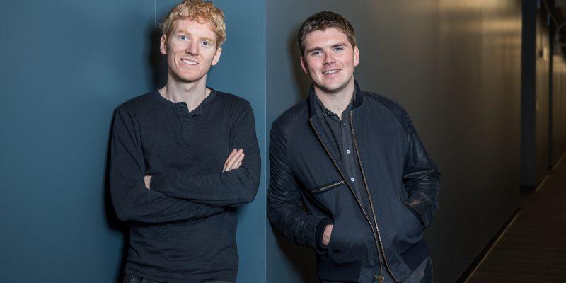 Stripe's founders Patrick and John Collison