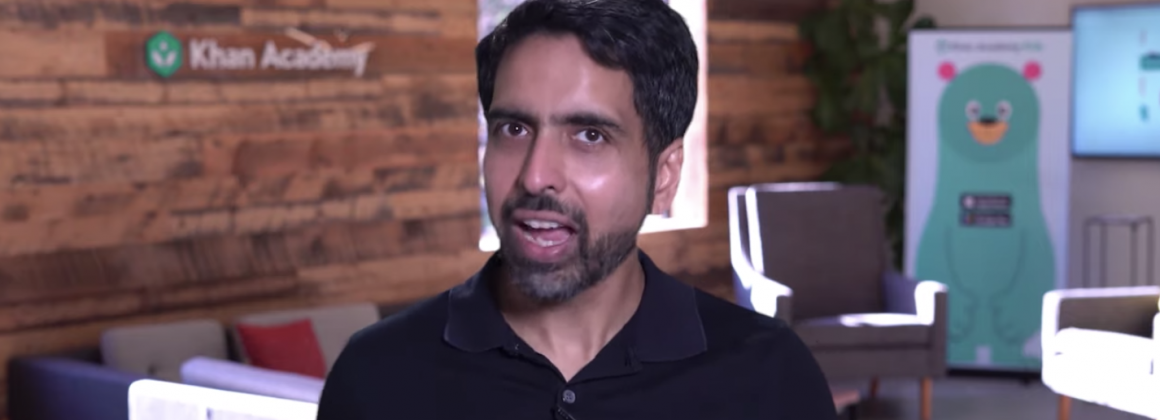 Sal Khan, founder and CEO at Khan Academy