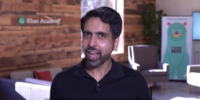 Sal Khan, founder and CEO at Khan Academy