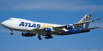 747-400F Atlas Air aircraft