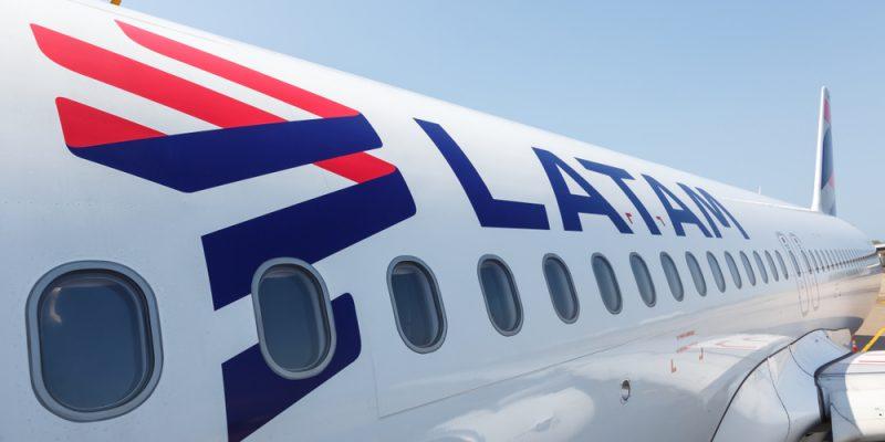 LATAM Airbus A320 airplane