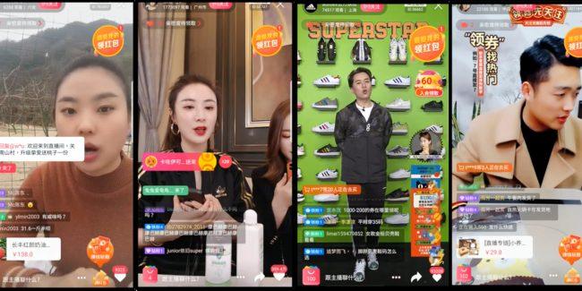 Live shopping on Alibaba Taobao marketplace